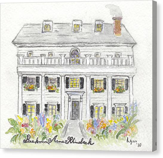 The Beekman Arms In Rhinebeck Canvas Print