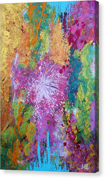 Contemporary Abstract  Canvas Print
