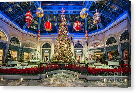 The Bellagio Christmas Tree Canvas Print