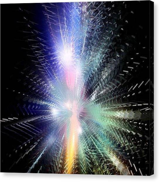 Scifi Canvas Print - The Big Bang - First Millisecond by Urbane Alien