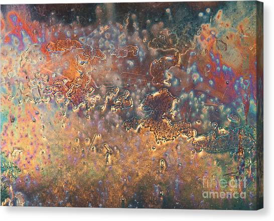 The Big Bang Abstract Canvas Print