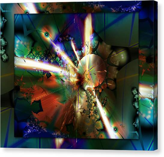 The Big Bang Canvas Print by Robin Curtiss