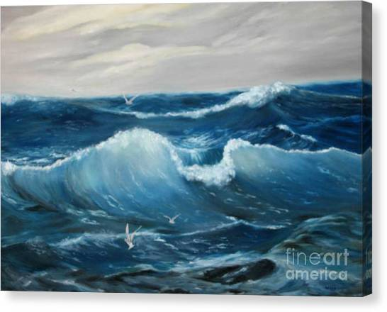 The Big Ocean Canvas Print