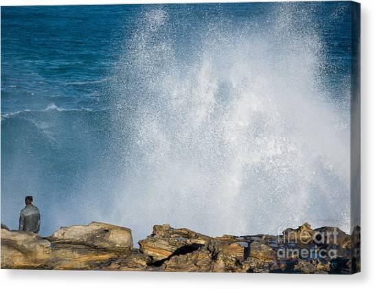 The Big Wave Canvas Print