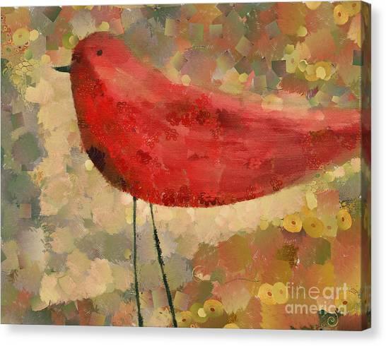 The Bird - K04d Canvas Print