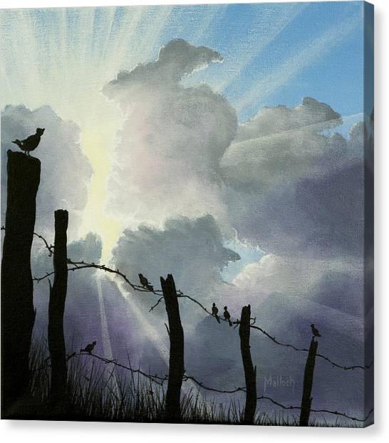 The Birds - Make A Joyful Noise Canvas Print