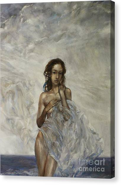 Canvas Print - The Birth Of Aphrodite  by Grigor Malinov