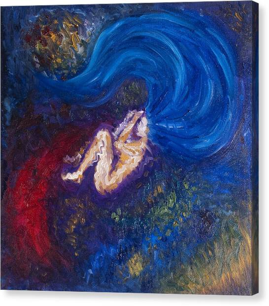 Unconscious Canvas Print - The Birth Of Sora by Sora Neva