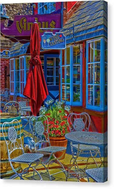 Coffee Plant Canvas Print - The Bistro by Richard J Cassato
