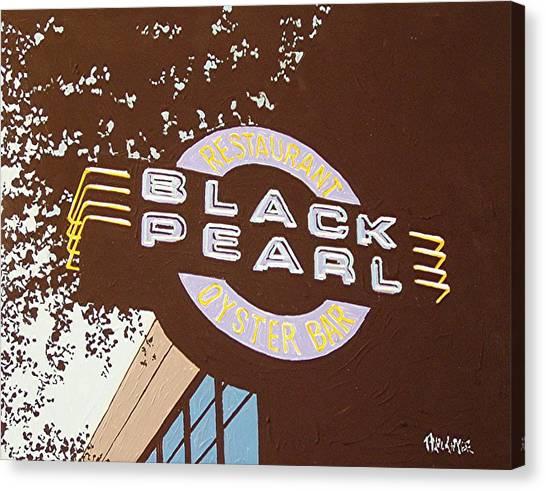 The Black Pearl In Midtown Canvas Print by Paul Guyer