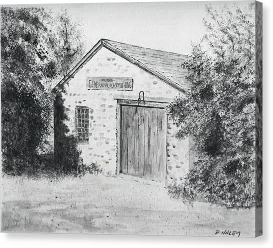 The Blacksmith's Shop Canvas Print by Dan Haley