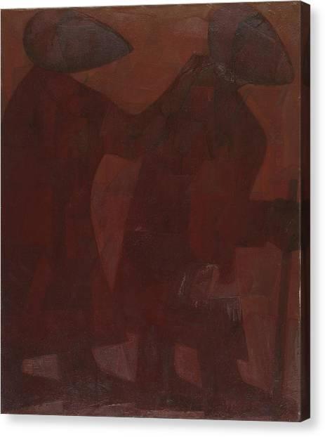 The Blind Men Canvas Print