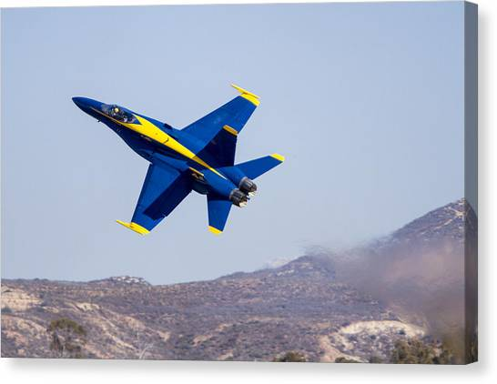 The Blue Angels In Action 4 Canvas Print