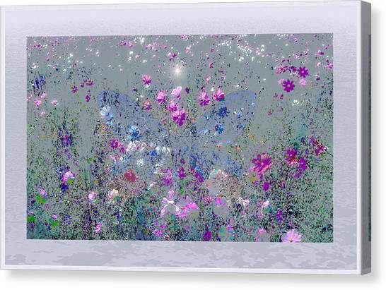 The Blue Butterfly Canvas Print