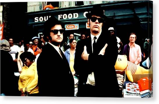 The Blues Brothers Canvas Print