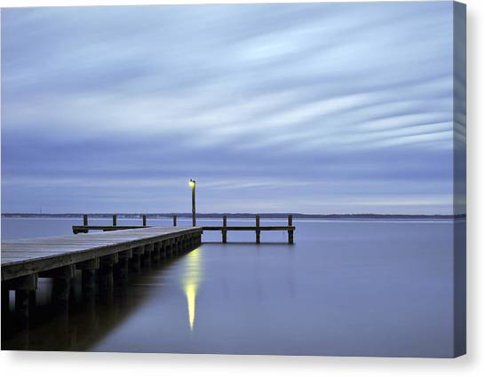 The Blues Lavallette New Jersey Canvas Print