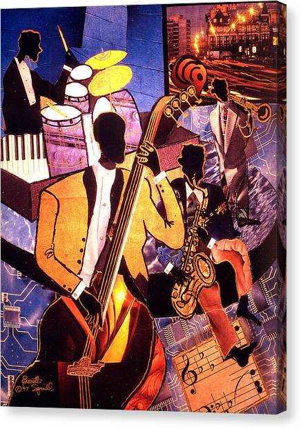 The Blues People Canvas Print