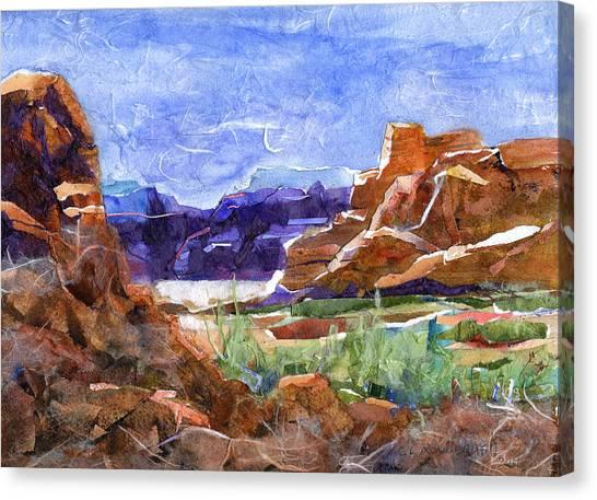 The Bluffs Canvas Print