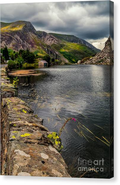 King Arthur Canvas Print - The Boat House by Adrian Evans