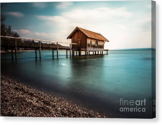 The Boats House II Canvas Print