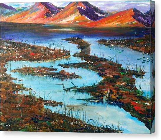The Bog Canvas Print
