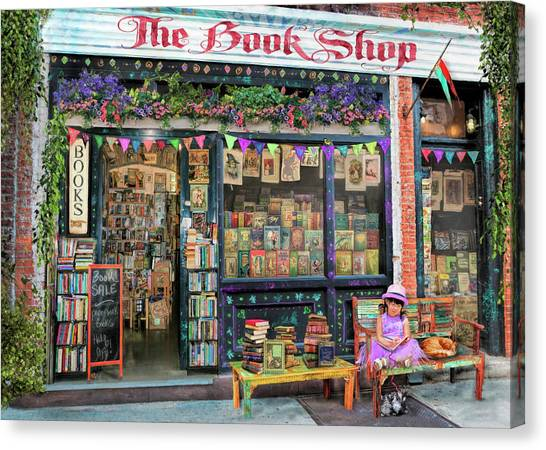 Aimee Stewart Canvas Print - The Bookshop Kids Variant 1 by Aimee Stewart