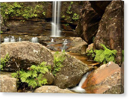 The Bottom Falls Canvas Print by Terry Everson