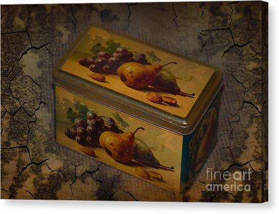 The Box Canvas Print by The Stone Age