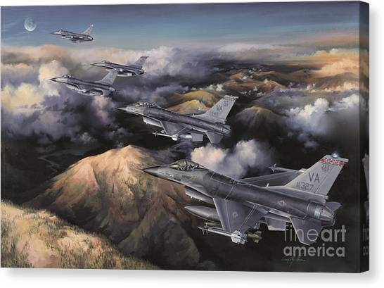 Cockpits Canvas Print - The Boys From Richmond by Randy Green
