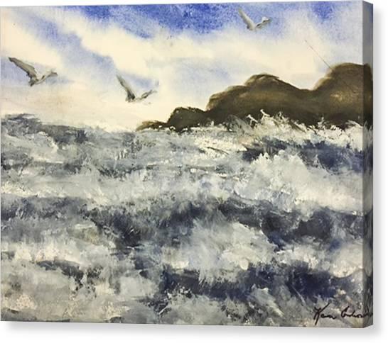 The Breeze  Canvas Print by Karen  Condron