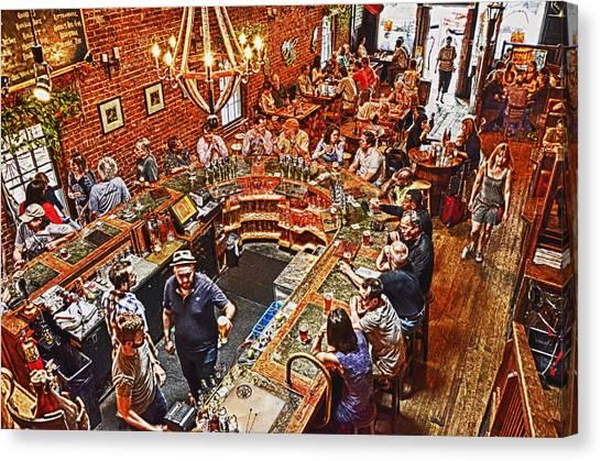 The Brick Store Pub Canvas Print