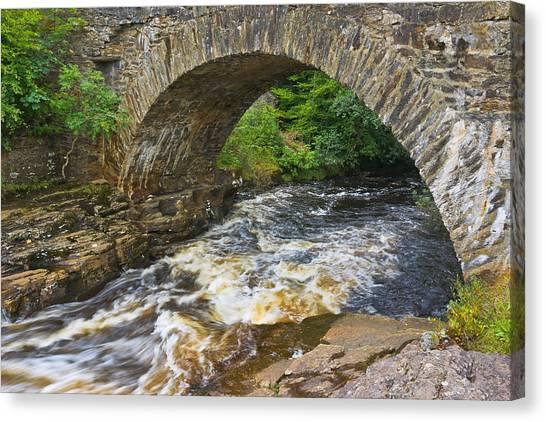 The Bridge Of Dochart Canvas Print