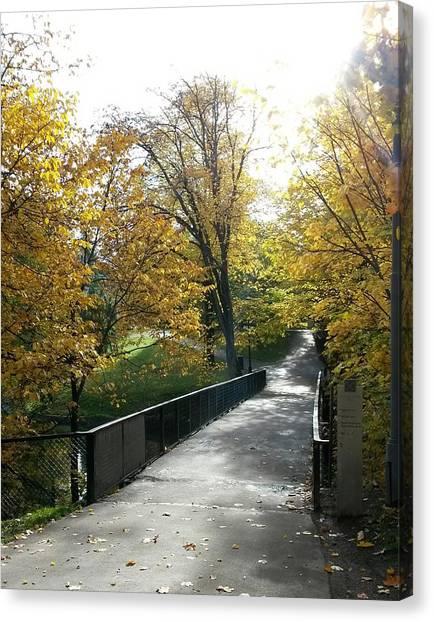 The Bridge Of Hope Canvas Print