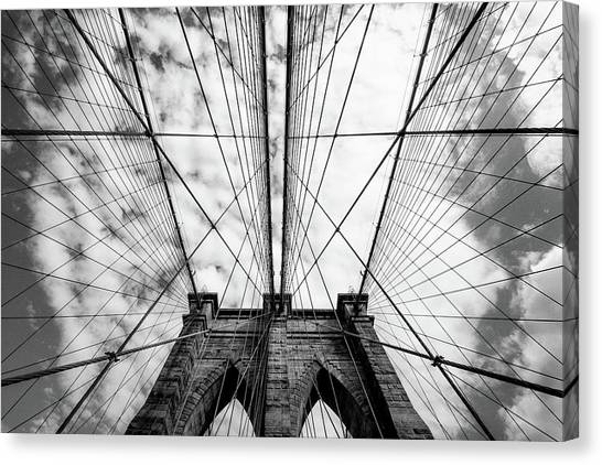 Grid Canvas Print - The Bridge by Susumu Nihashi