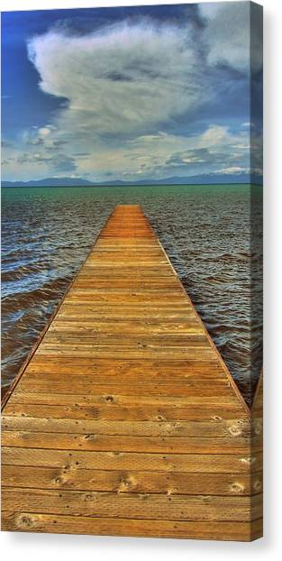 The Bridge To Nowhere And Everywhere Canvas Print