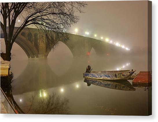 The Bridge To Nowhere Canvas Print