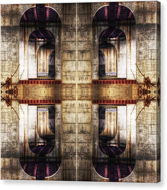 The Bridges Canvas Print by Don Powers