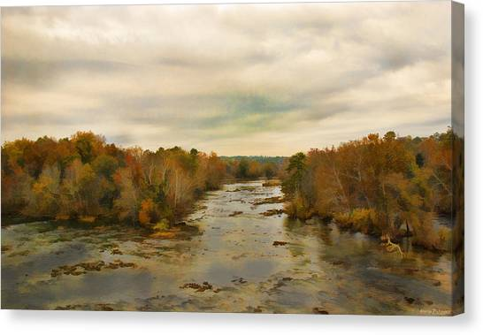The Broad River Canvas Print