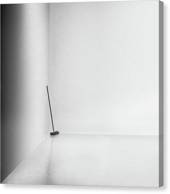 Suprematism Canvas Print - The Broom by Gilbert Claes
