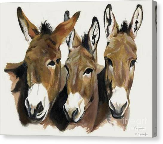 The Brothers Three Canvas Print