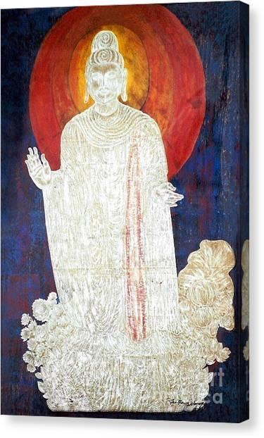 The Buddha's Light Canvas Print
