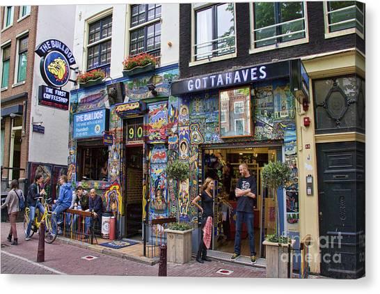 The Bulldog Coffee Shop - Amsterdam Canvas Print