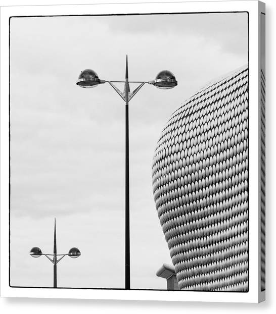 Canvas Print featuring the photograph The Bullring by Stefan Nielsen