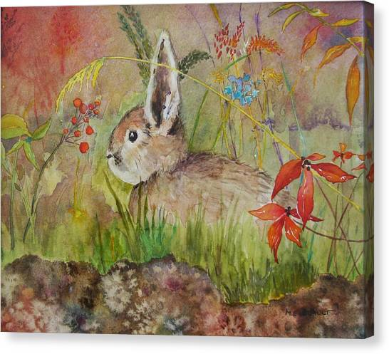 The Bunny Canvas Print