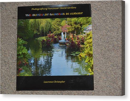 The Butchart Gardens - Photos By Lawrence Christopher Canvas Print