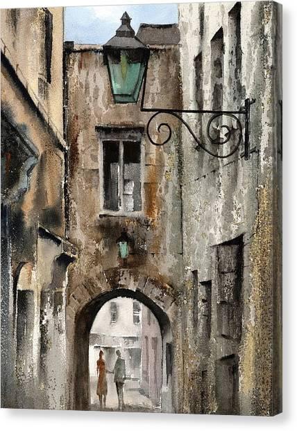 Kilkenny  The Butterslip   Canvas Print