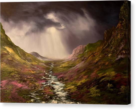 The Cairngorms In Scotland Canvas Print