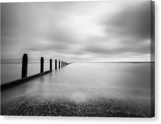 The Calm Sea. Canvas Print