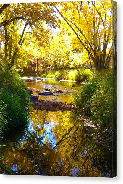The Calm Side Canvas Print