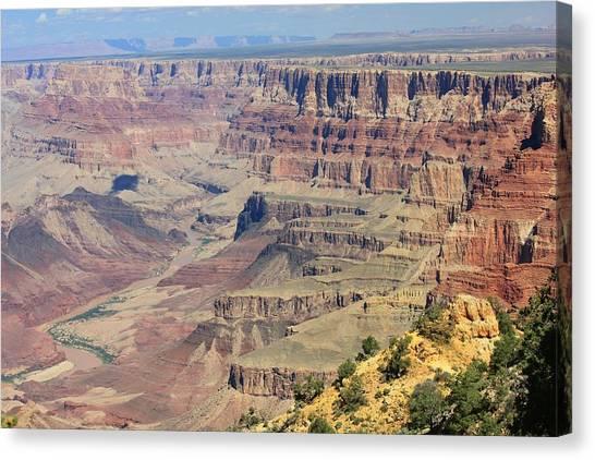 The Canyon Desert View Canvas Print by Douglas Miller